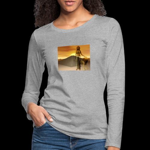 FANTASY 1 - Frauen Premium Langarmshirt
