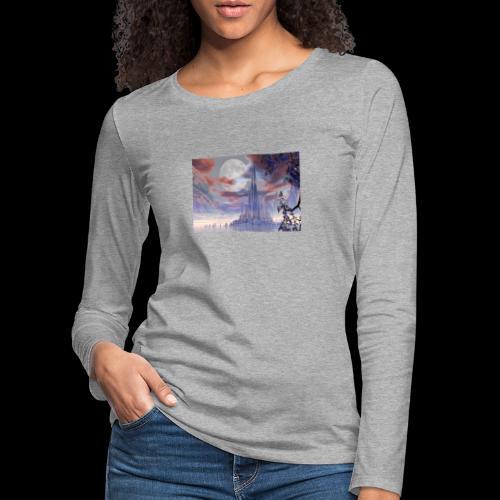 FANTASY 3 - Frauen Premium Langarmshirt