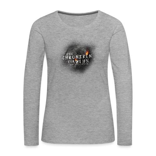 Die Chroniken der Zehn-Meteorit - Frauen Premium Langarmshirt