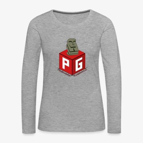 Preikestolen Gamers - Premium langermet T-skjorte for kvinner