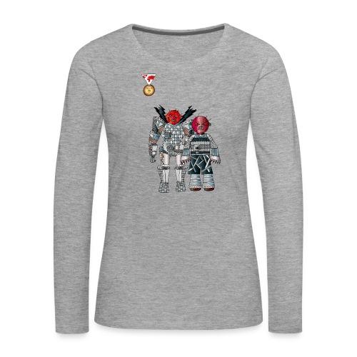 Trashcans - Frauen Premium Langarmshirt