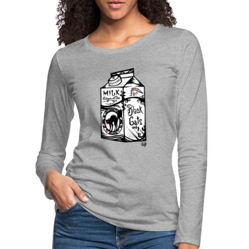 Il Latte di Edgar Allan Poe! - Maglietta Premium a manica lunga da donna
