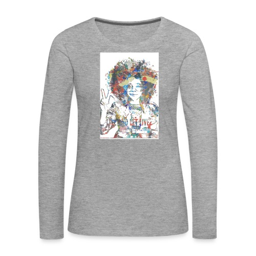 Live and let live, Geschenkidee - Frauen Premium Langarmshirt