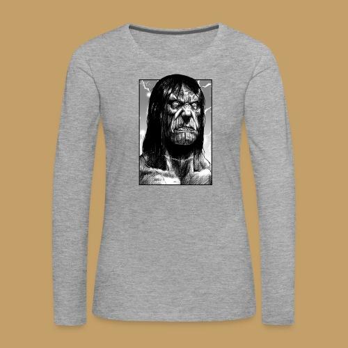 Frankenstein's Monster - Koszulka damska Premium z długim rękawem