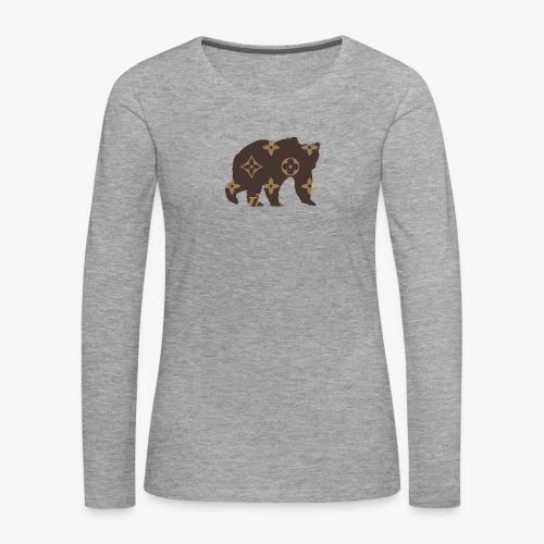 alouci x lv - Långärmad premium-T-shirt dam