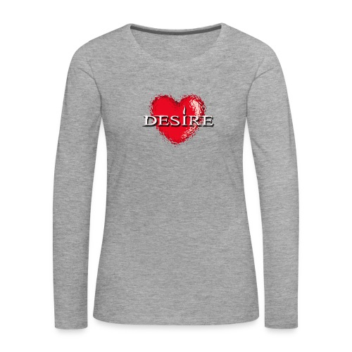 Desire Nightclub - Women's Premium Longsleeve Shirt