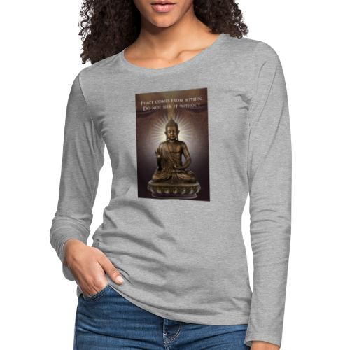 Peace from Within - Women's Premium Longsleeve Shirt