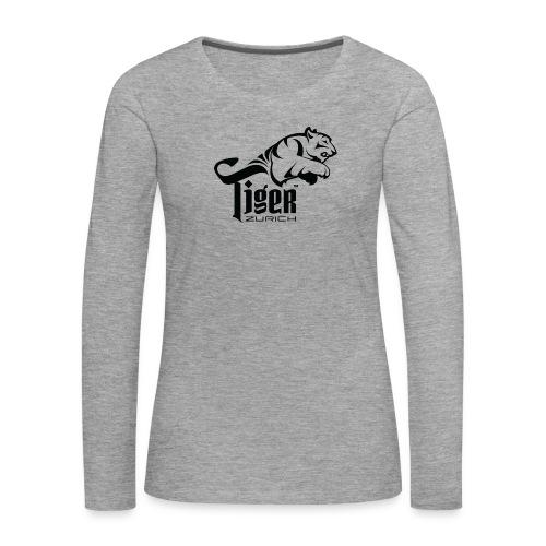 TIGER ZURICH digitaltransfer - Frauen Premium Langarmshirt