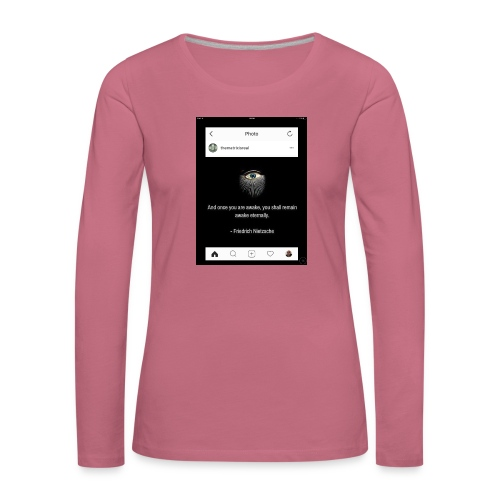 81F94047 B66E 4D6C 81E0 34B662128780 - Women's Premium Longsleeve Shirt