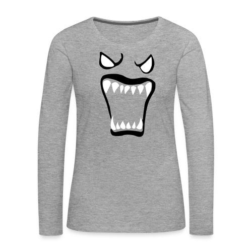 Monsters running wild - Långärmad premium-T-shirt dam