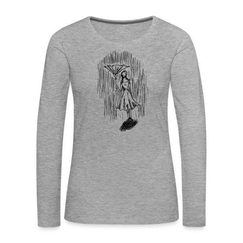 Umbrella - Women's Premium Longsleeve Shirt