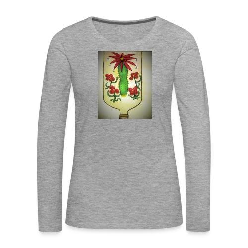 Alcoholism - Naisten premium pitkähihainen t-paita