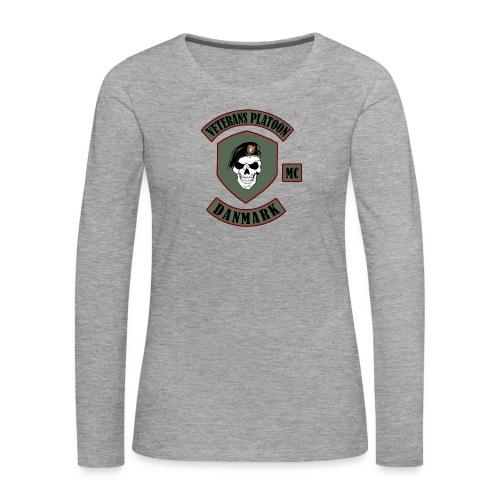 Veterans Platoon - Dame premium T-shirt med lange ærmer