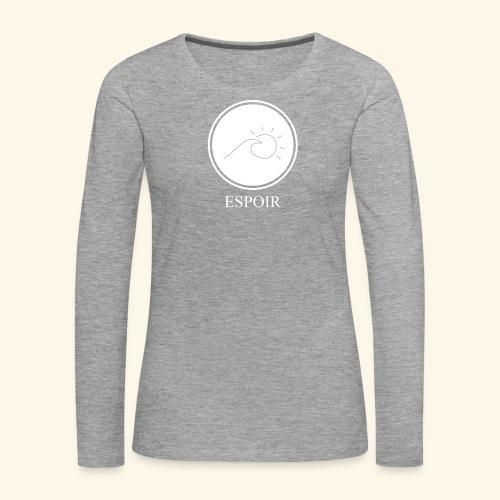 Espoir sun and waves - Women's Premium Longsleeve Shirt