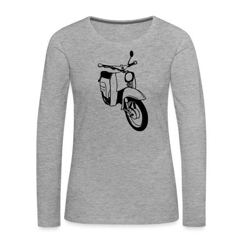 Simson Schwalbe - Frauen Premium Langarmshirt