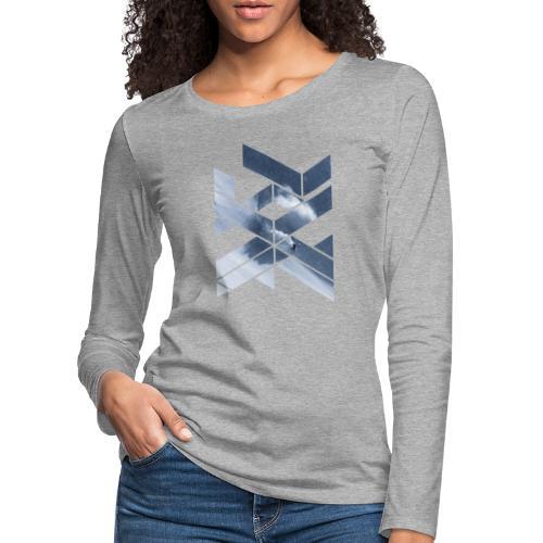 Grafic Art Snowboarding Wintersports - Frauen Premium Langarmshirt