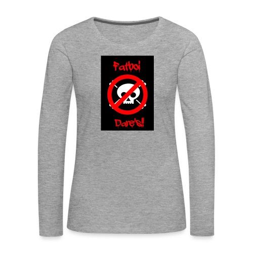 Fatboi Dares's logo - Women's Premium Longsleeve Shirt