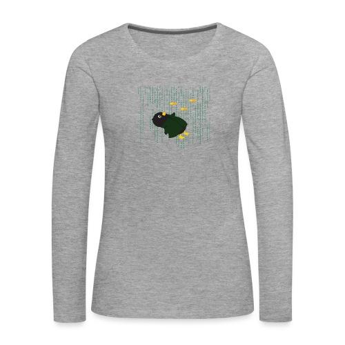 Pingouin Bullet Time - T-shirt manches longues Premium Femme
