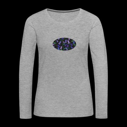 blue bells - T-shirt manches longues Premium Femme