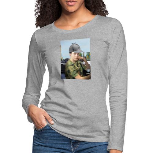 Detektiv Laurin - Frauen Premium Langarmshirt