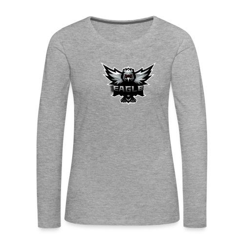 Eagle merch - Dame premium T-shirt med lange ærmer