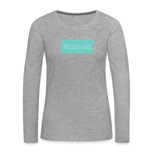 #teamelia - Frauen Premium Langarmshirt