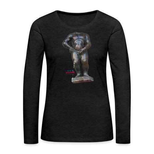 mannekenpis Real Big ♀♂   撒尿小童 - T-shirt manches longues Premium Femme