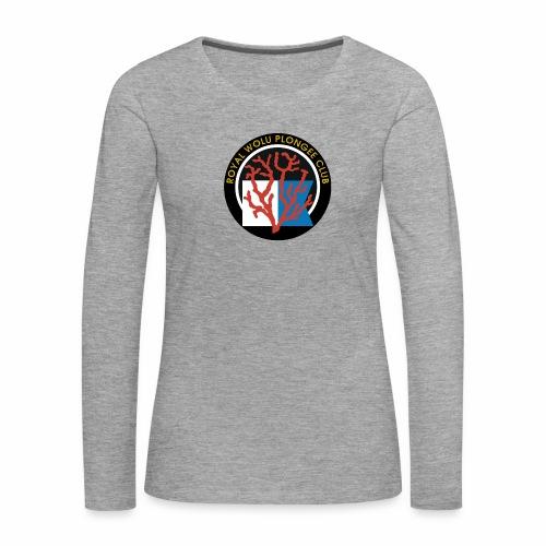 Royal Wolu Plongée Club - T-shirt manches longues Premium Femme