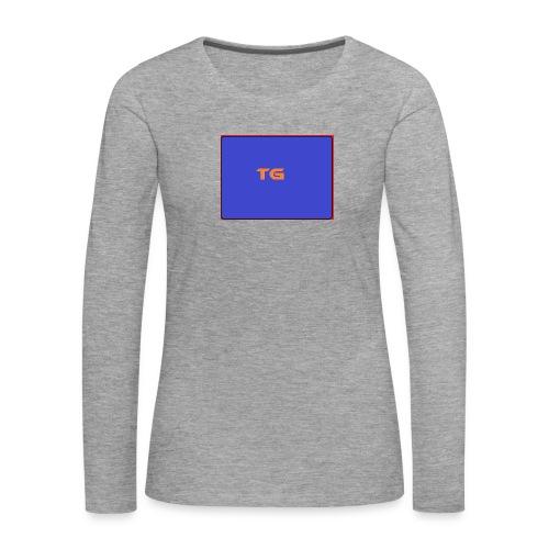 tg shirt special - Vrouwen Premium shirt met lange mouwen