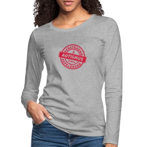 Verständnis durch Aufklärung - Frauen Premium Langarmshirt