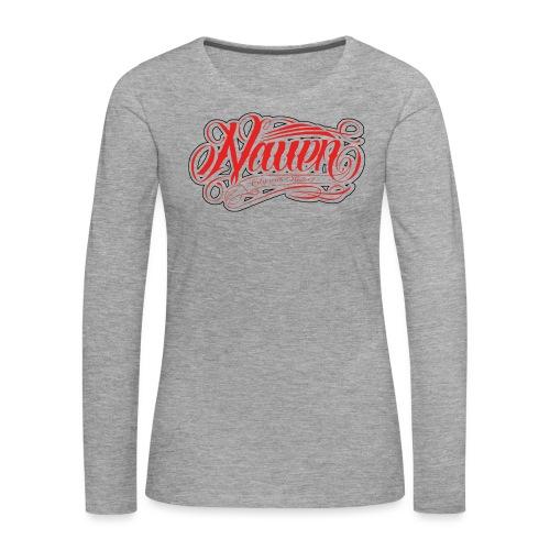 Nauen Rocker - Frauen Premium Langarmshirt