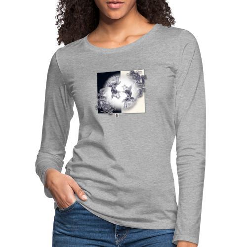 TSHIRT MUTAGENE TATOO DragKoi - T-shirt manches longues Premium Femme
