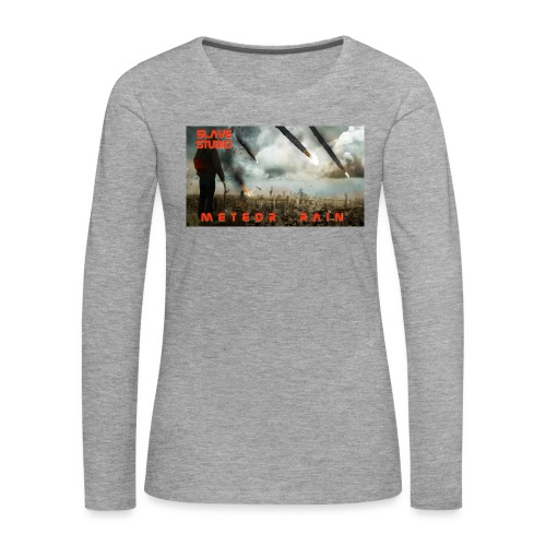 Meteor rain - Maglietta Premium a manica lunga da donna