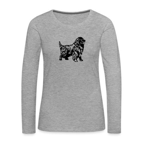 Neufundländer - Frauen Premium Langarmshirt