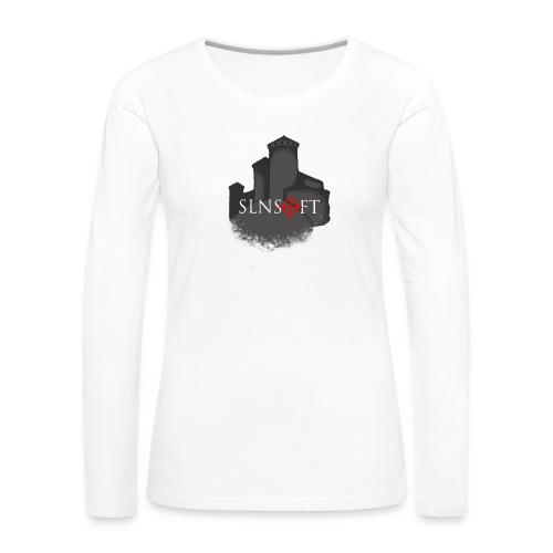 slnsoft - Naisten premium pitkähihainen t-paita