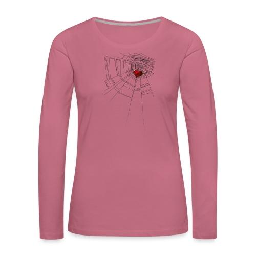 trappola_del_cuore - Maglietta Premium a manica lunga da donna