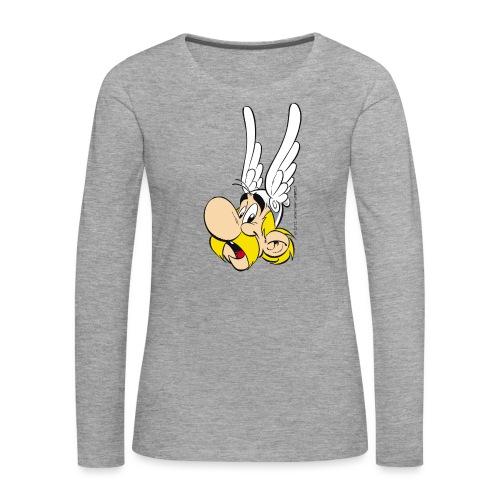 Astérix Portrait - T-shirt manches longues Premium Femme