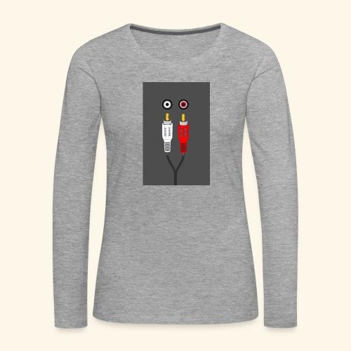 rca cable1 - Maglietta Premium a manica lunga da donna