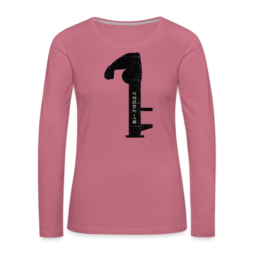 bi zooka - Dame premium T-shirt med lange ærmer