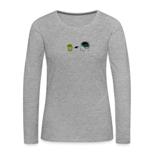 lol - Camiseta de manga larga premium mujer