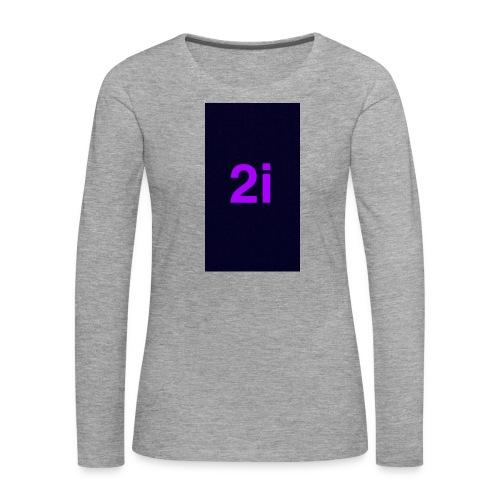 2i - T-shirt manches longues Premium Femme