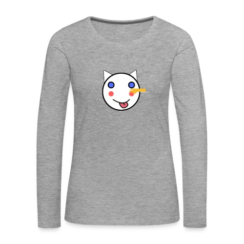 Alf Cat With Friend | Alf Da Cat - Women's Premium Longsleeve Shirt