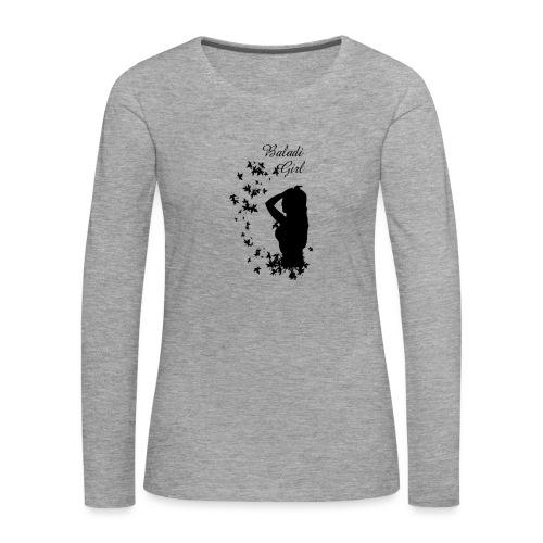 Baladi girl - T-shirt manches longues Premium Femme
