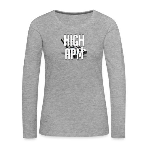 XpHighAPM - T-shirt manches longues Premium Femme