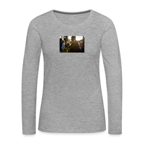 Shaka saxo - T-shirt manches longues Premium Femme