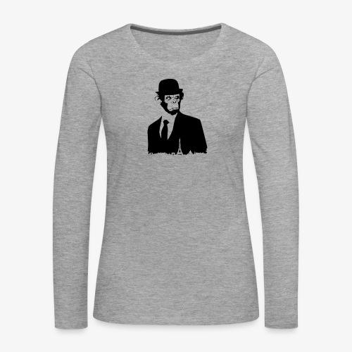 COLLECTION *BLACK MONKEY PARIS* - T-shirt manches longues Premium Femme