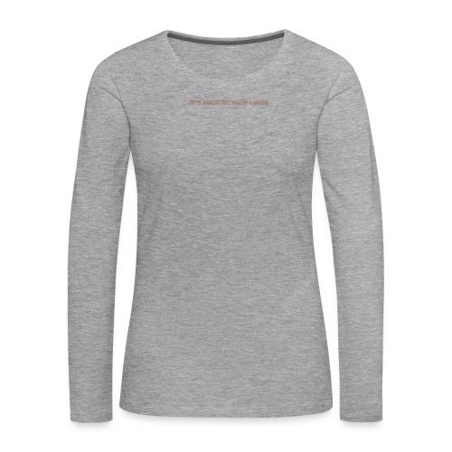 Be A Savage - Women's Premium Longsleeve Shirt