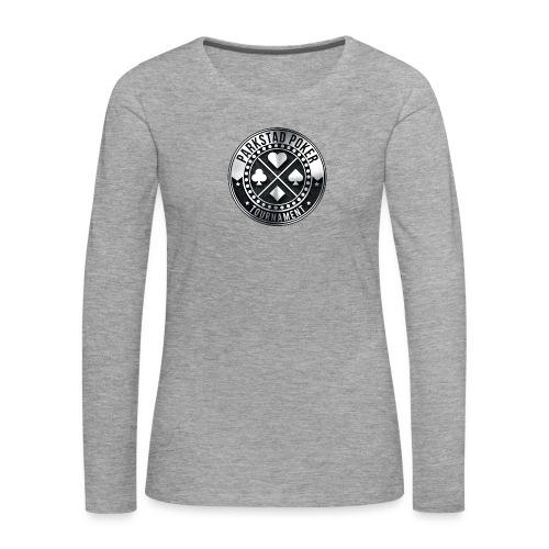 PPT rond - Vrouwen Premium shirt met lange mouwen