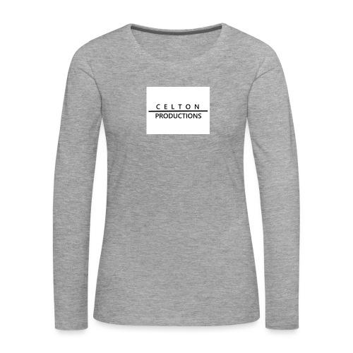 CeltonProductions - Långärmad premium-T-shirt dam
