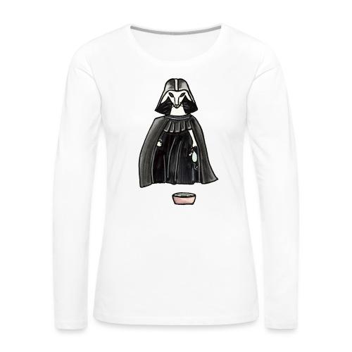 Darth Albert - Långärmad premium-T-shirt dam